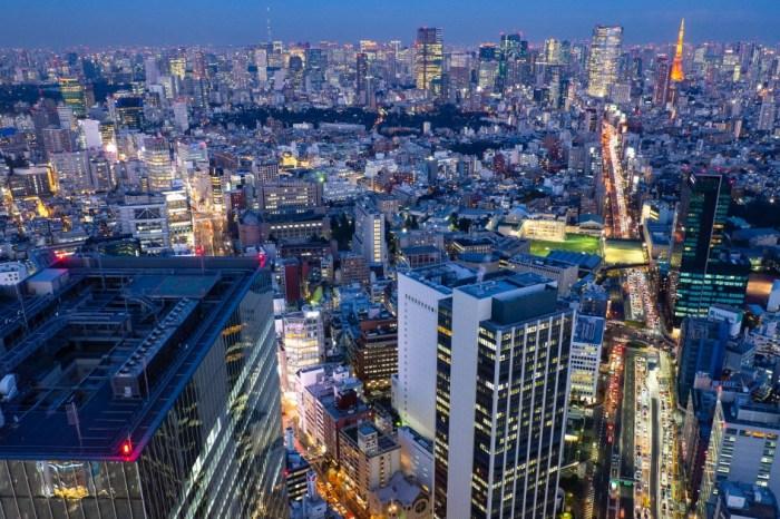 [東京景點] SHIBUYA SKY-能看到富士山的澀谷超人氣360度展望台