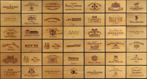 collage panelen wijn aan de kade