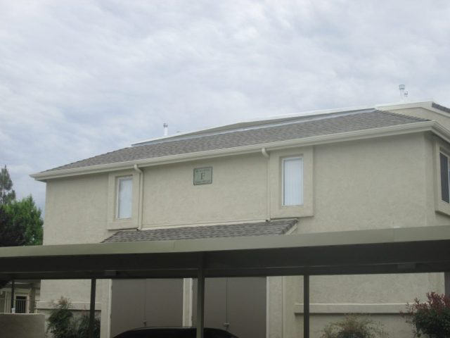 HOA Gutters for Apartments Condos Carports
