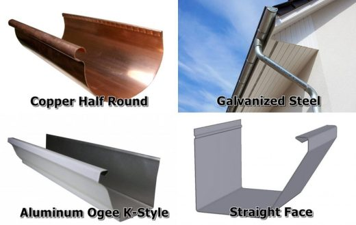 Gutter Styles and Material Choices