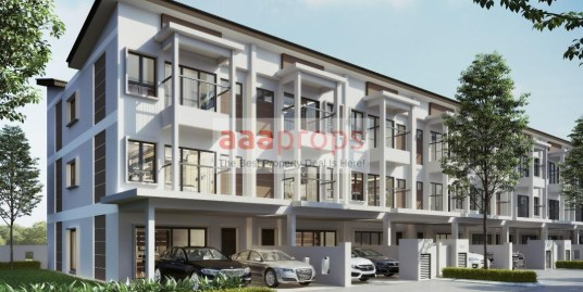New 3-Storey Terrace at Jenderam, Bangi for sale