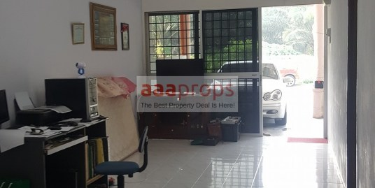 Single Storey (Corner Lot) Taman Banting Baru For Sale