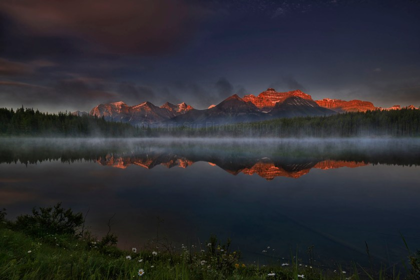 acupuncture blog sunrise at herbert lake 01