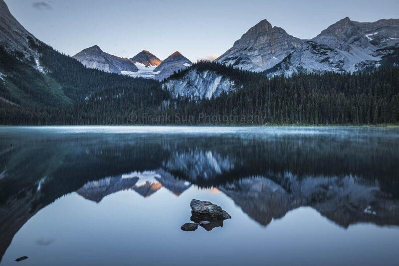 Sunrise at Lower Elk Lake