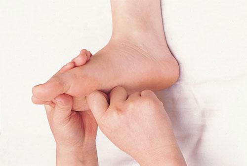 Reflexology massage acupuncture