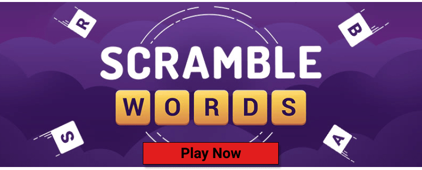 AARP Games- Scramble