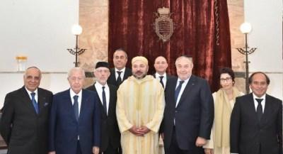 الملك محمد السادس واليهود المغاربة