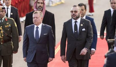 برقية تهنئة إلى الملك من العاهل الأردني بمناسبة العام الهجري الجديد