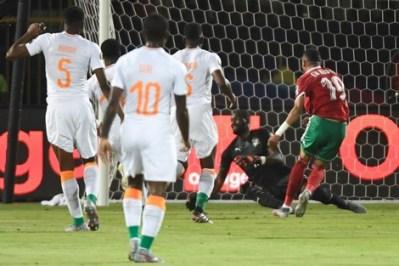 هدف المنتخب المغربي
