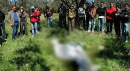 العثور على جثة تاجر معلقة بشجرة وسط مقبرة بالقنيطرة..!!