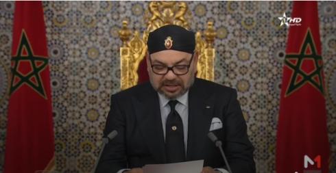 الملك يوجه خطاب بمناسبة ثورة الملك والشعب