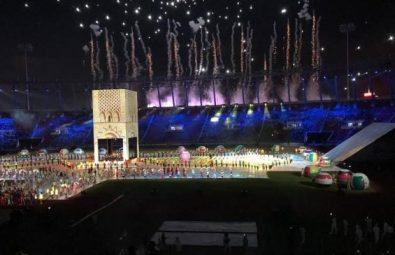 افتتاح الألعاب الافريقية