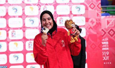 الألعاب الإريقية بطلة مغربية تحرز ذهبية