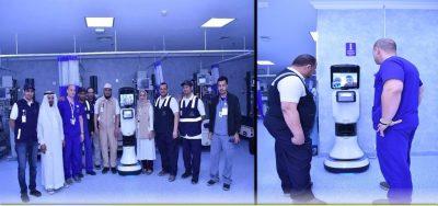 """السعودية..""""روبوت دكتور"""" في خدمة الحجاج"""