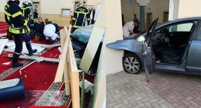 اقتحام مسجد
