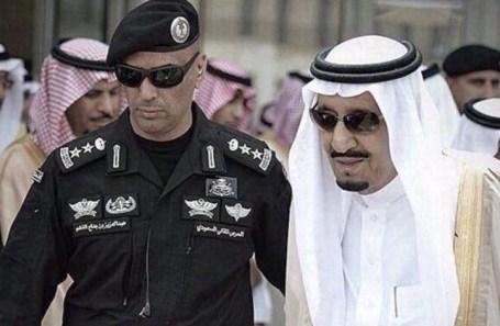 الحرس الشخصي لملك السعودية