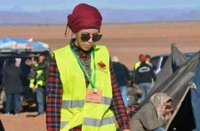 مقتل مغربية
