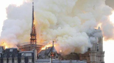 فرنسا..حريق مهول بمصنع كيميائي و السلطات تصفه بالخطير