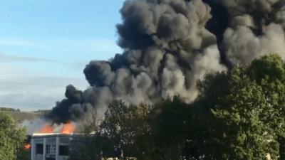 النامسا: انفجار قرب مطار لينتس وإصابة شخصين بجروح بليغة