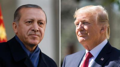 نبع السلام.. أردوغان يلقى رسالة ترامب بشأن سوريا في سلة المهملات