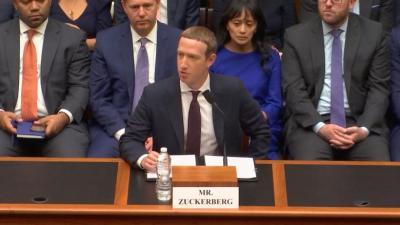 مؤسس فيسبوك يقضي 6 ساعات أمام مجلس النواب الأمريكي في قضية عملته الرقمية