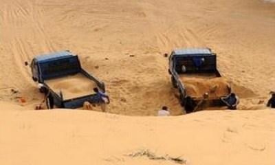 مقالع الرمال