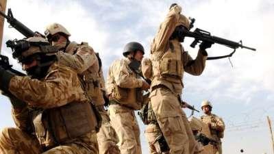 العراق..إطلاق 17 صاروخا باتجاه قاعدة أميركية