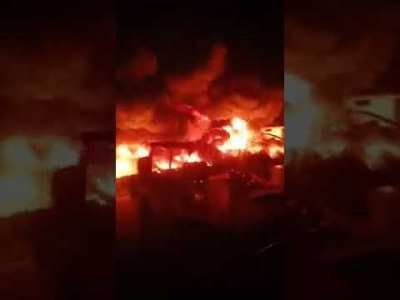 انفجار انبوب غاز بمصر