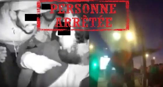 البيضاء..الأمن يتفاعل مع شريط الاعتداء على سائق طاكسي و يعتقل الجناة