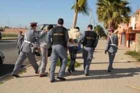 مراكش..حملة أمنية ضد تجارة المخدرات بمنطقة أسني