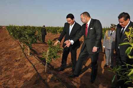 الملك محمد السادس يترأس حفل إطلاق الاستراتيجية الجديدة لتطوير قطاعي الفلاحة والمياه والغابات