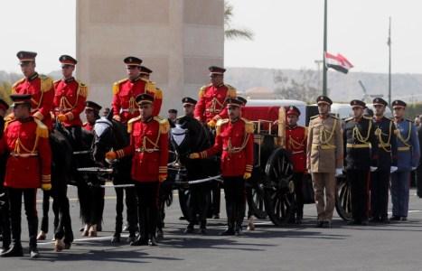 جنازة حسني مبارك