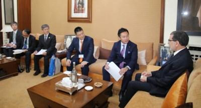 سعد الدين العثماني يؤكد عزم المغرب على تطوير علاقاته الثنائية مع اليابان