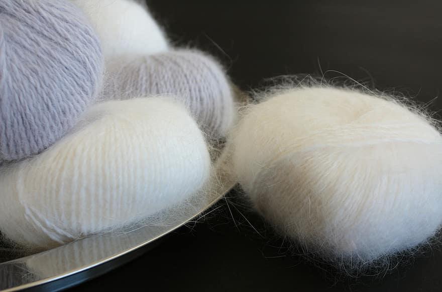 Angora Wool Yarn