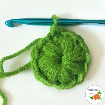 aabhar creations crochet scrubby