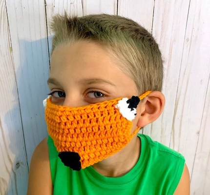 Fox Face Mask Cover Up