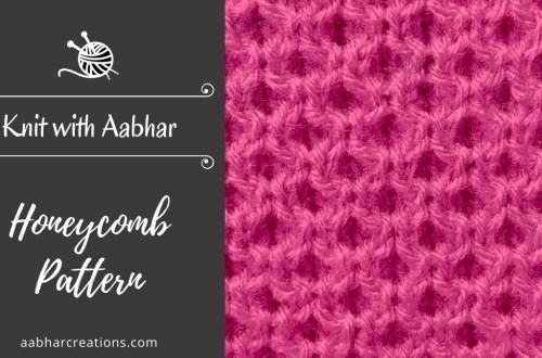 Honeycomb Stitch Featured aabharcreations