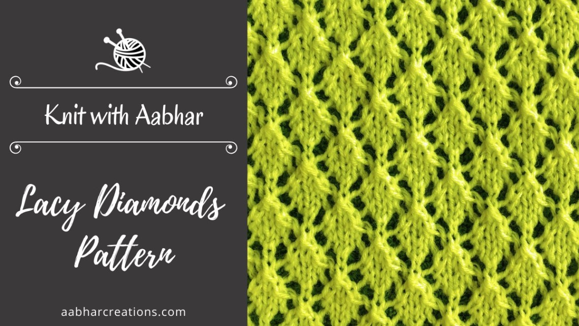 Lacy Diamonds Featured aabharcreations