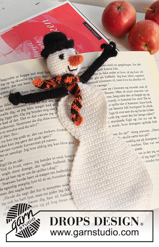 frosty the bookman bookmark last minute gift idea