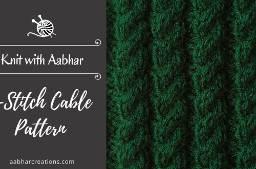 4-Stitch Cable Pattern Featured