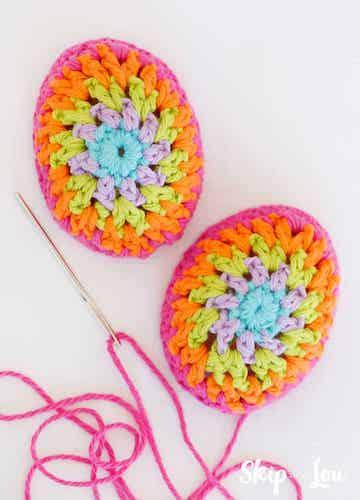 #6 Crochet Easter Eggs Pattern