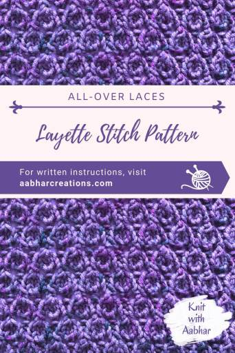 layette stitch pattern pin aabharcreations