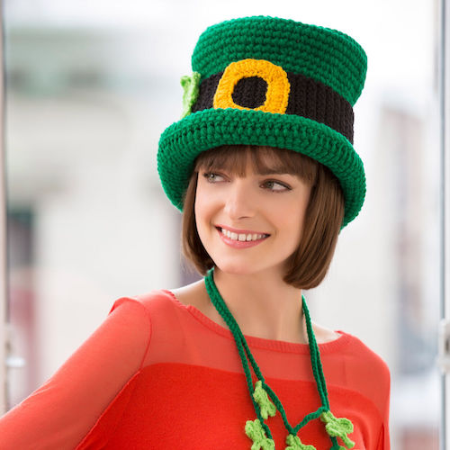 Red Heart St. Patrick's Day Chapeau