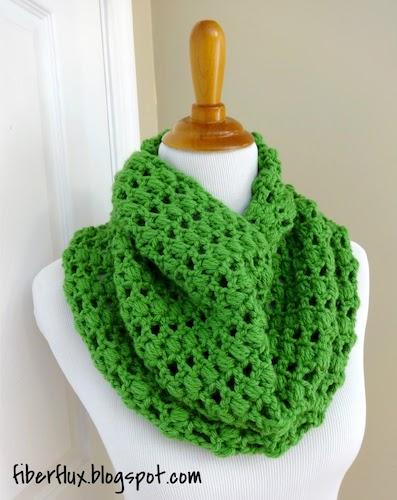 Crochet Cilantro Cowl