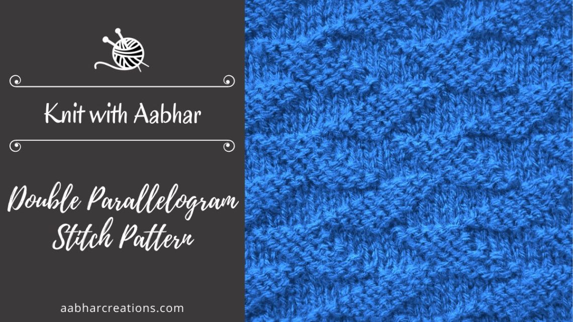 Double Parallelogram Stitch Featured aabharcreations