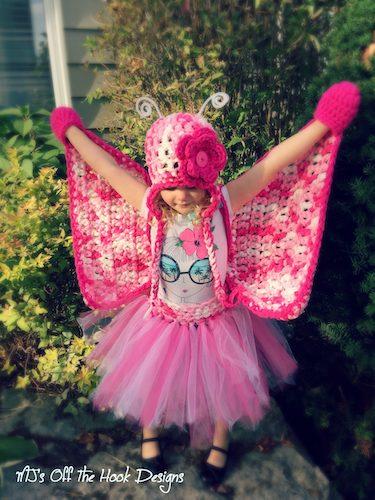Pattern: Butterfly Costume Set Pattern from MJs