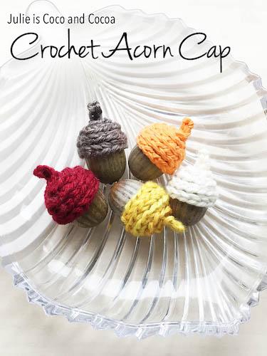 Pattern: Crochet Acorn Cap from Julie Measures