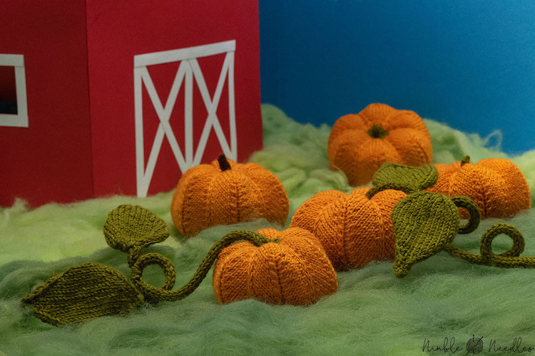 Pattern: Knitted Pumpkin Pattern from Nimble Needles