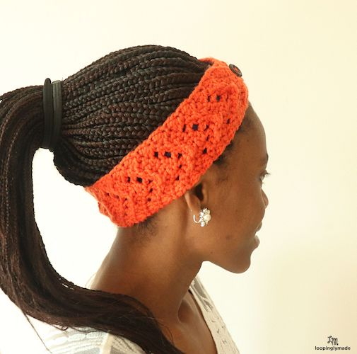 Pattern: Rustic Fall Crochet Headband from Craft-Her
