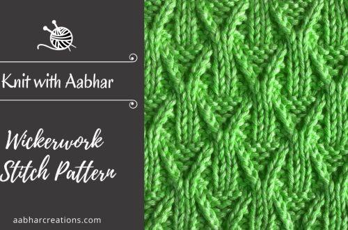 Wickerwork Stitch Featured aabharcreations